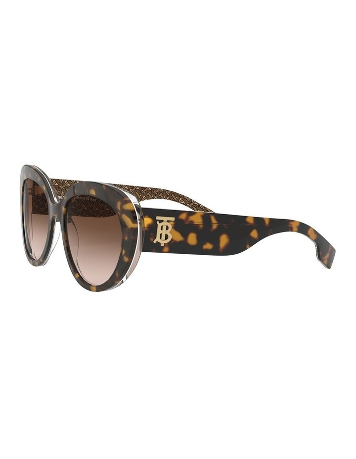 Brown Oversized Sunglasses 0BE4298 1526407002 image 3