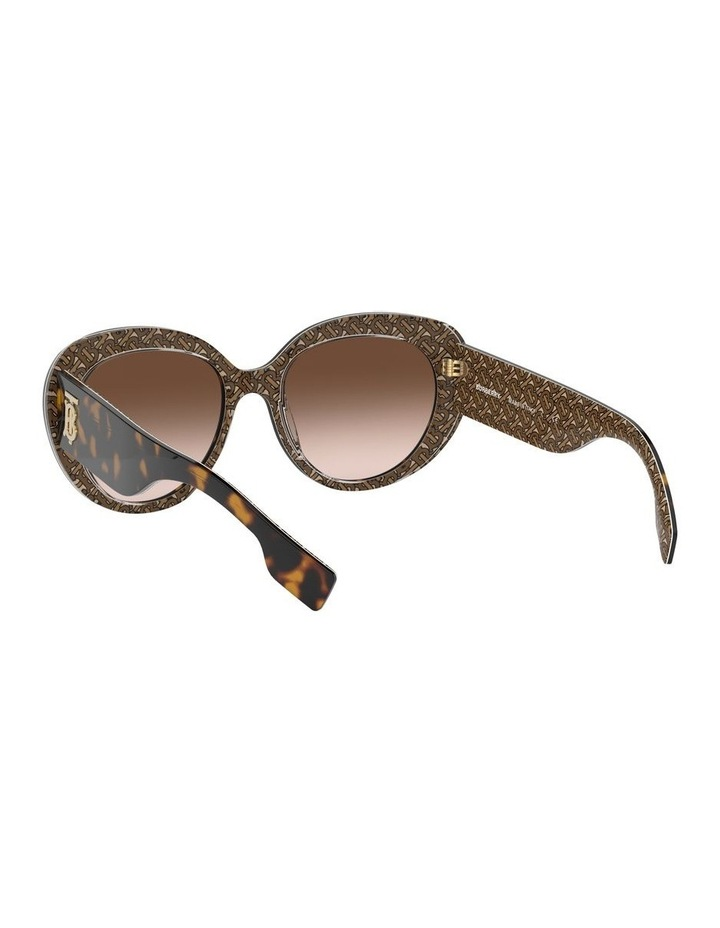 Brown Oversized Sunglasses 0BE4298 1526407002 image 6
