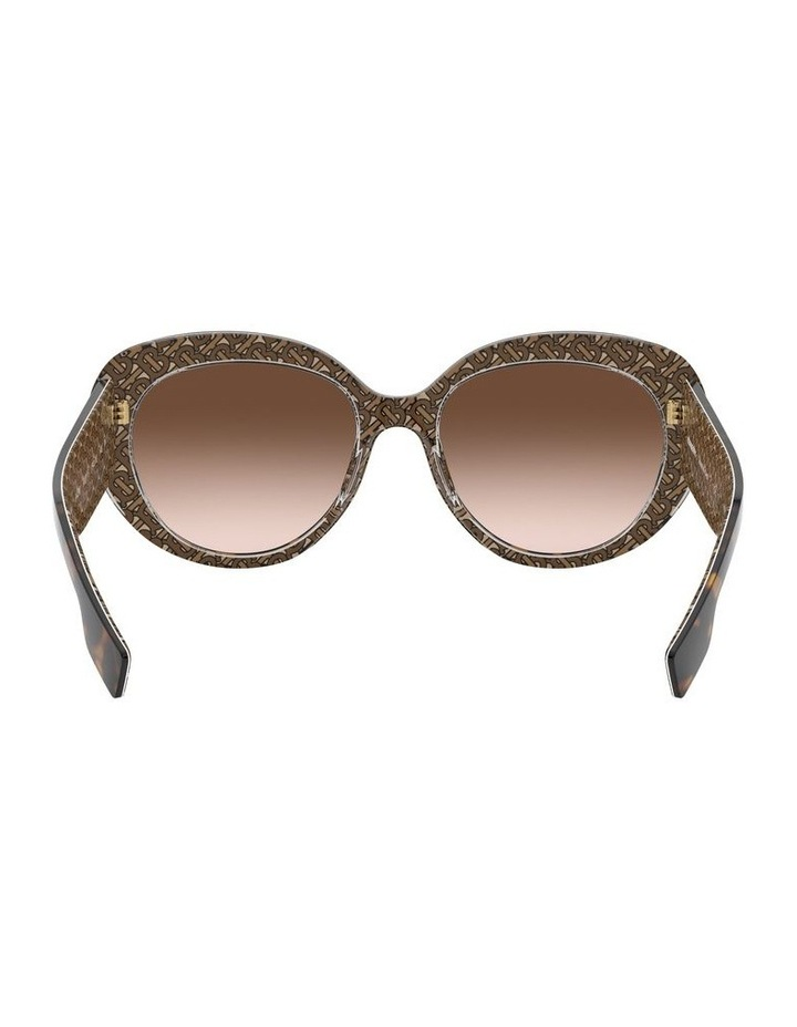 Brown Oversized Sunglasses 0BE4298 1526407002 image 7