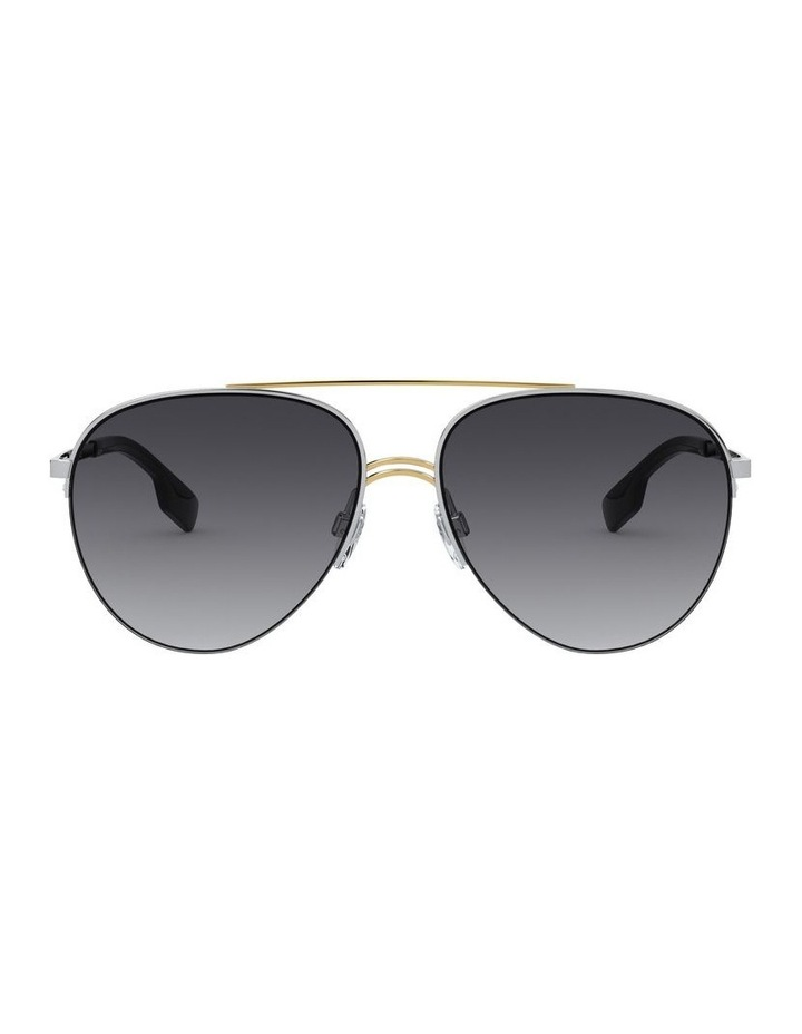 Grey Aviator Sunglasses 0BE3113 1527834004 image 2