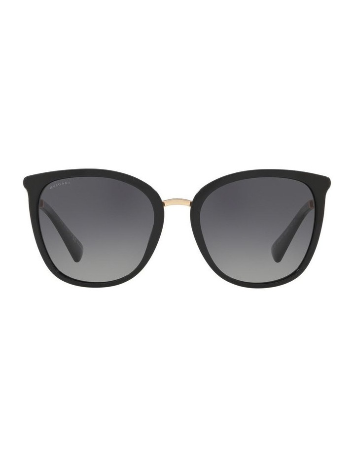 Grey Square Sunglasses 0BV8205KB 1519449002 image 2