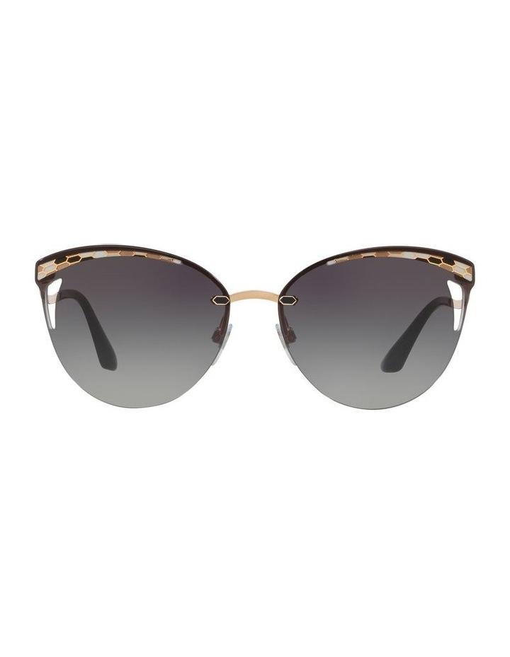 Grey Cat Eye Sunglasses 0BV6110 1521928001 image 2