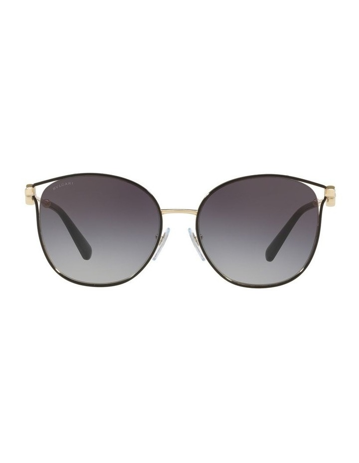 Grey Cat Eye Sunglasses 0BV6114 1522504001 image 2