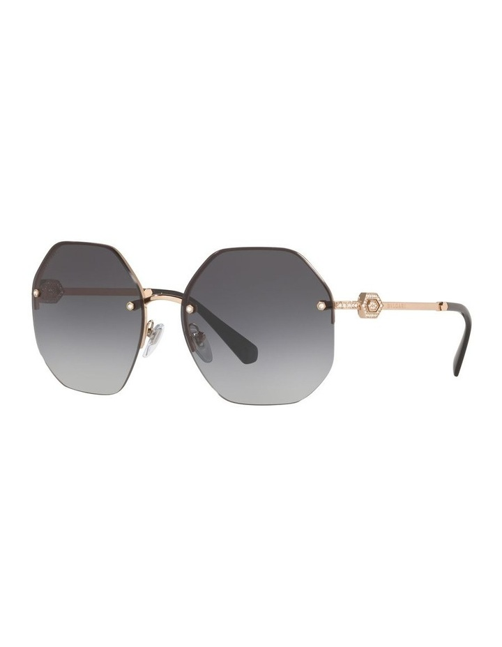 Grey Geometric Sunglasses 0BV6122B 1524551001 image 1