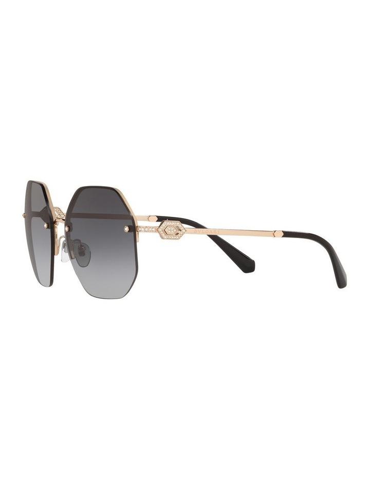 Grey Geometric Sunglasses 0BV6122B 1524551001 image 3