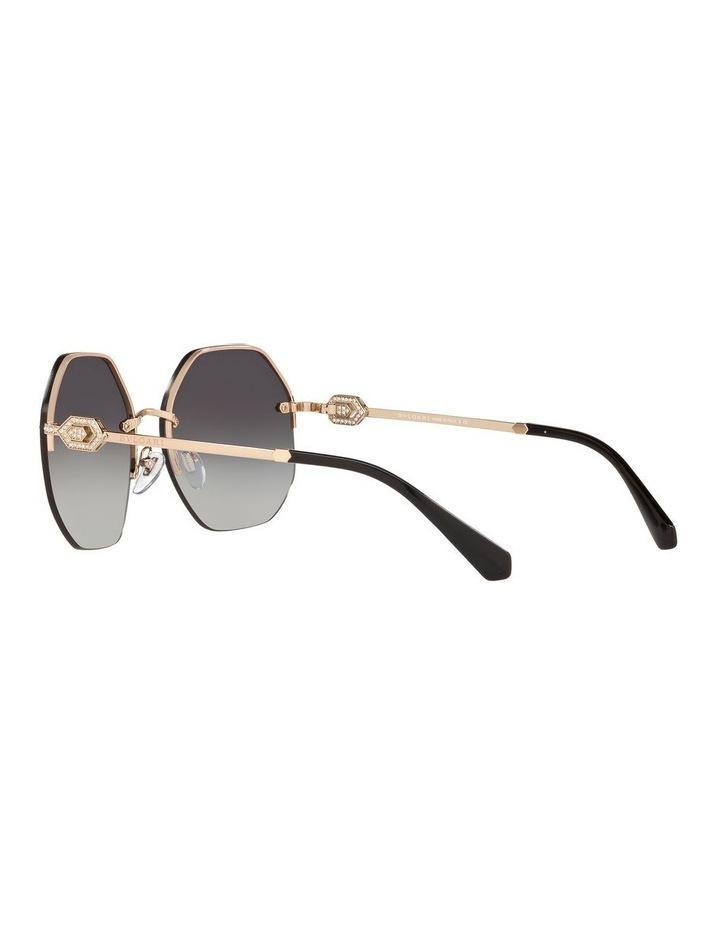 Grey Geometric Sunglasses 0BV6122B 1524551001 image 5