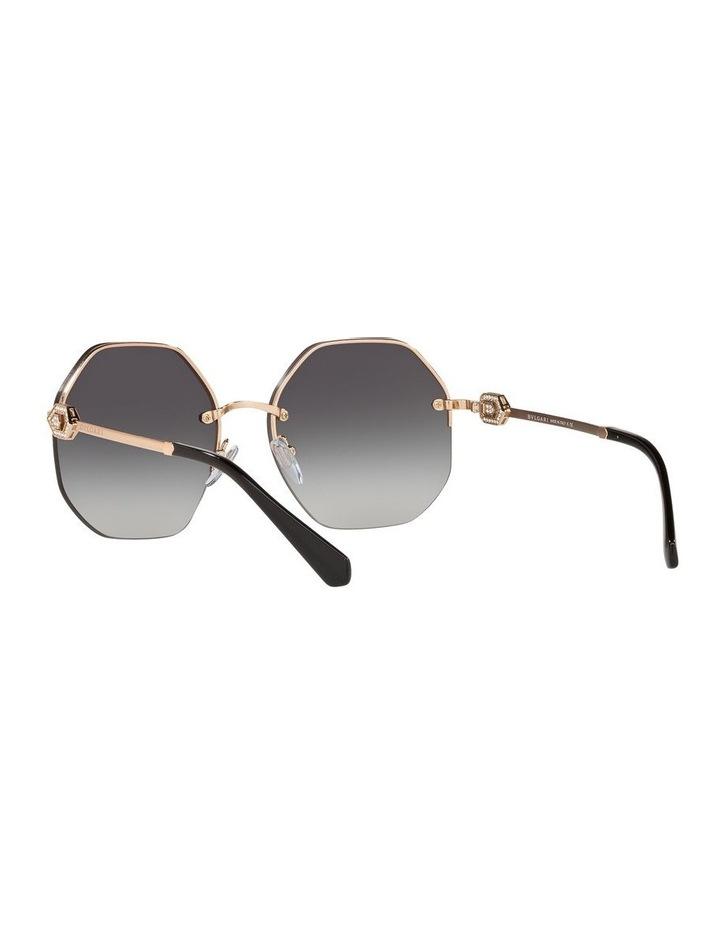Grey Geometric Sunglasses 0BV6122B 1524551001 image 6