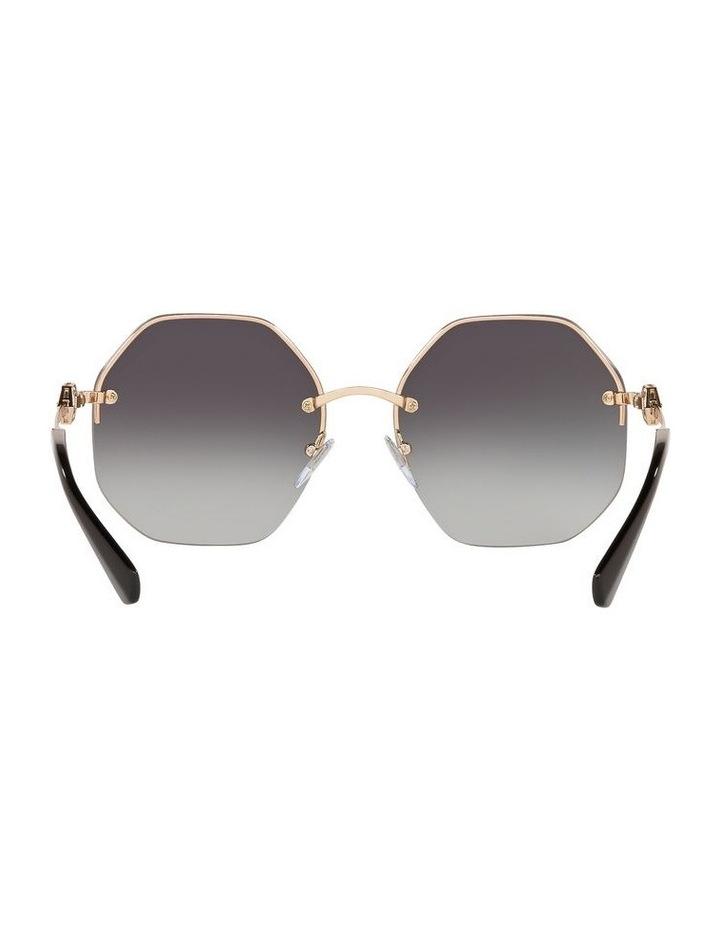 Grey Geometric Sunglasses 0BV6122B 1524551001 image 7