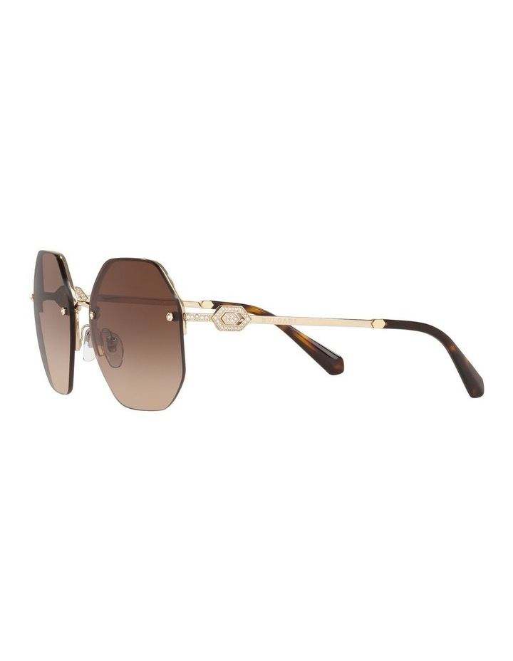 Brown Geometric Sunglasses 0BV6122B 1524551002 image 3