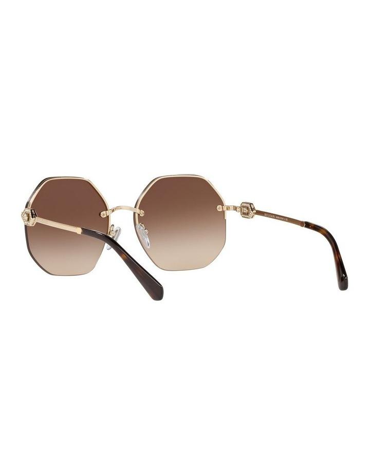 Brown Geometric Sunglasses 0BV6122B 1524551002 image 6