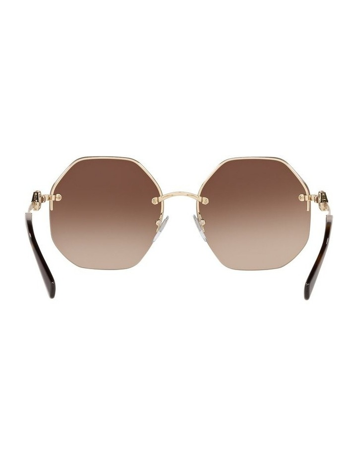 Brown Geometric Sunglasses 0BV6122B 1524551002 image 7