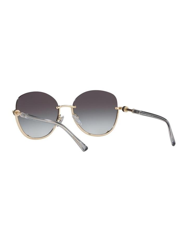 Grey Reverse Half Rim Square Sunglasses 0BV6123 1524552002 image 6