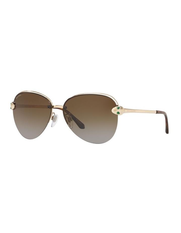 Brown Pilot Sunglasses 0BV6121KB 1524556001 image 1