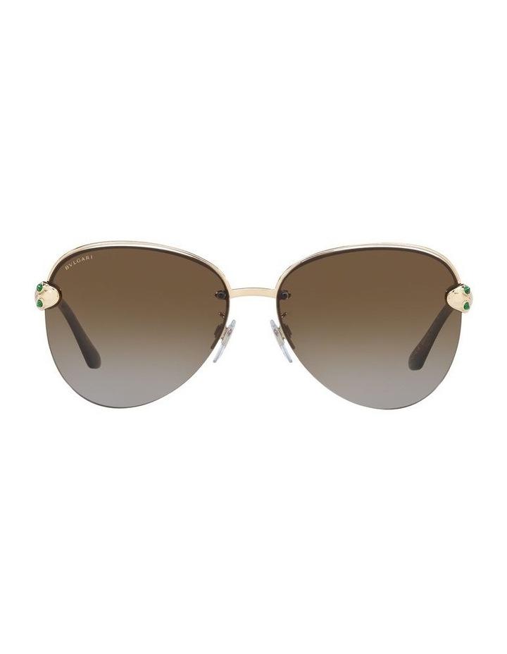 Brown Pilot Sunglasses 0BV6121KB 1524556001 image 2