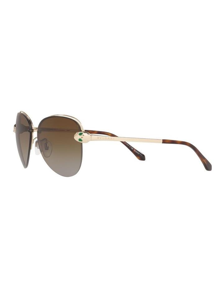Brown Pilot Sunglasses 0BV6121KB 1524556001 image 3