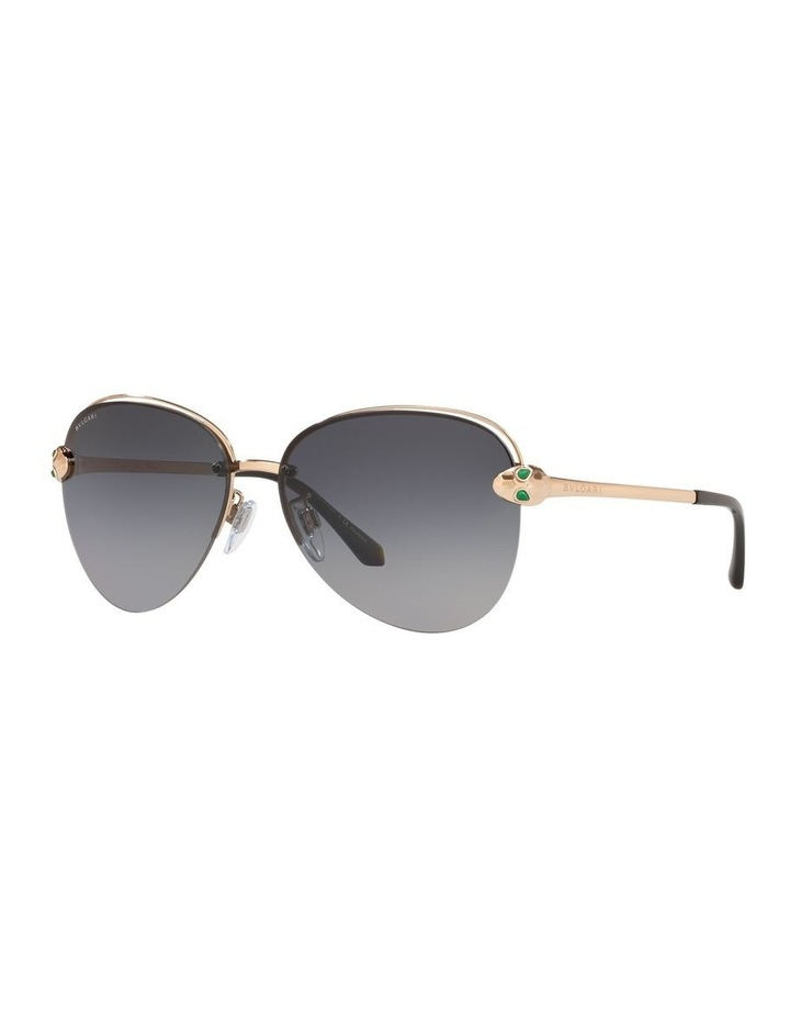 Grey Pilot Sunglasses 0BV6121KB 1524556002 image 1