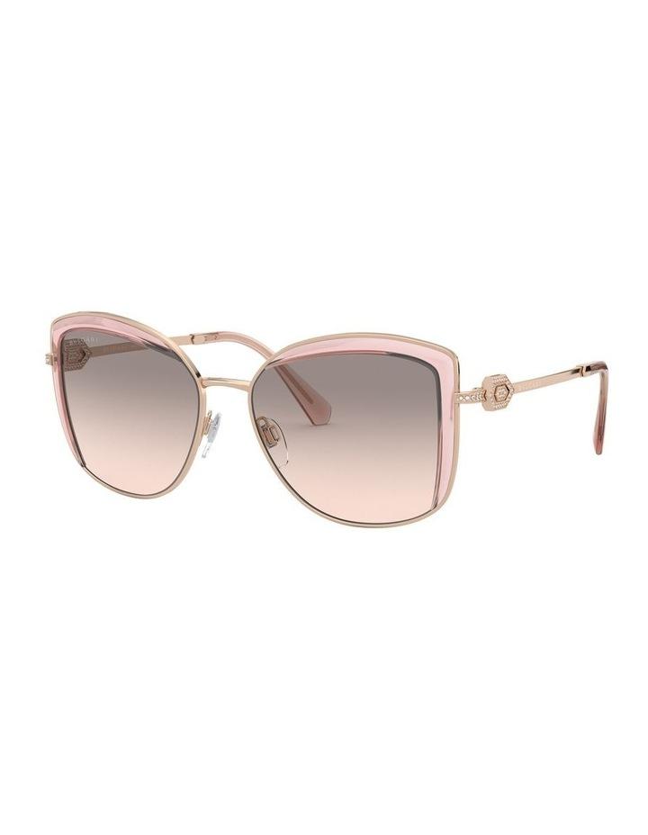 Grey Square Sunglasses 0BV6128B 1526884001 image 1