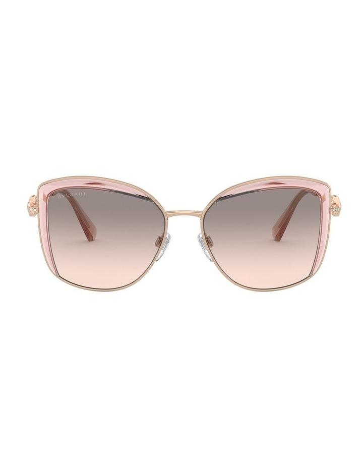 Grey Square Sunglasses 0BV6128B 1526884001 image 2