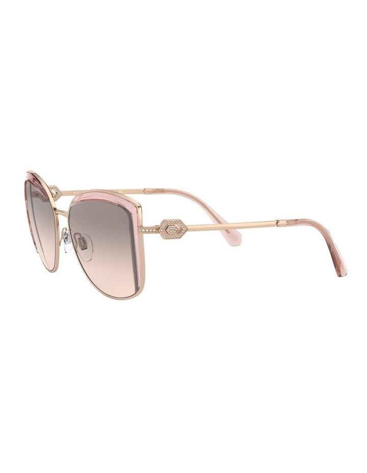 Grey Square Sunglasses 0BV6128B 1526884001 image 3