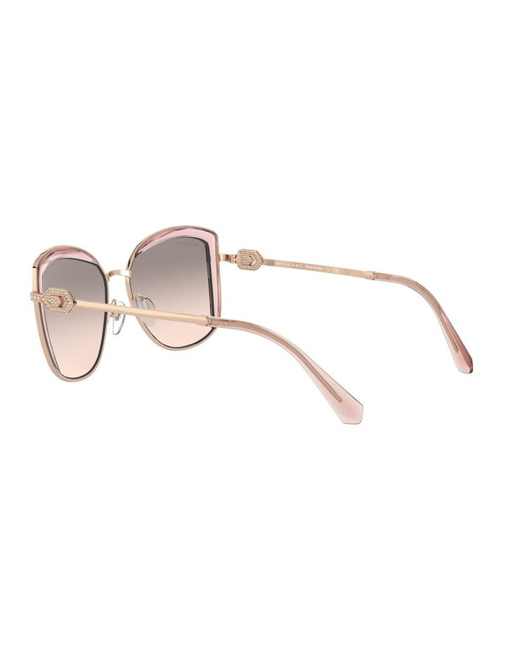 Grey Square Sunglasses 0BV6128B 1526884001 image 5