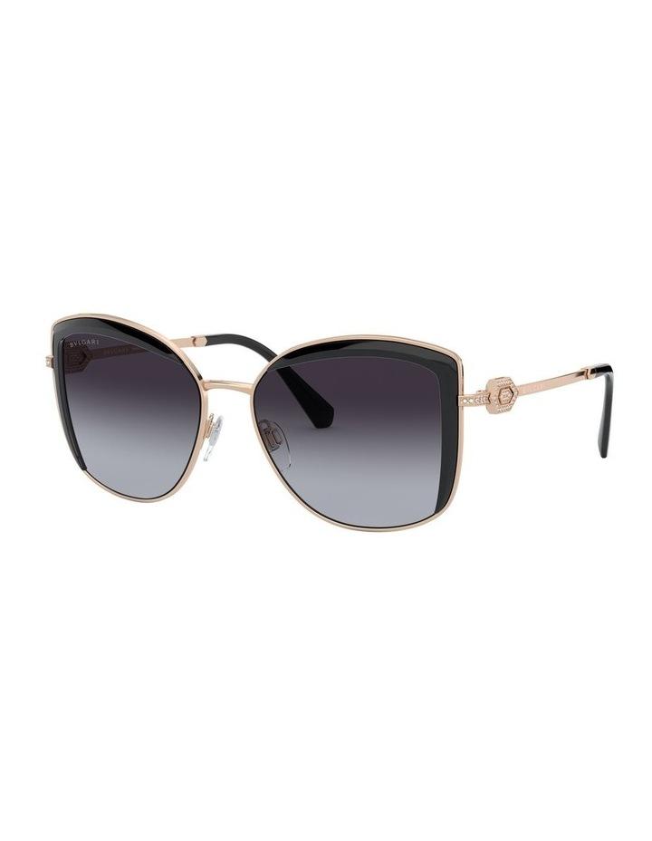 Grey Square Sunglasses 0BV6128B 1526884002 image 1