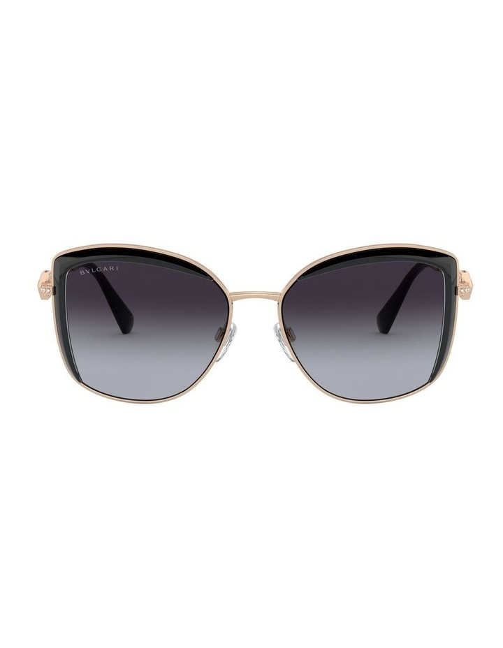 Grey Square Sunglasses 0BV6128B 1526884002 image 2