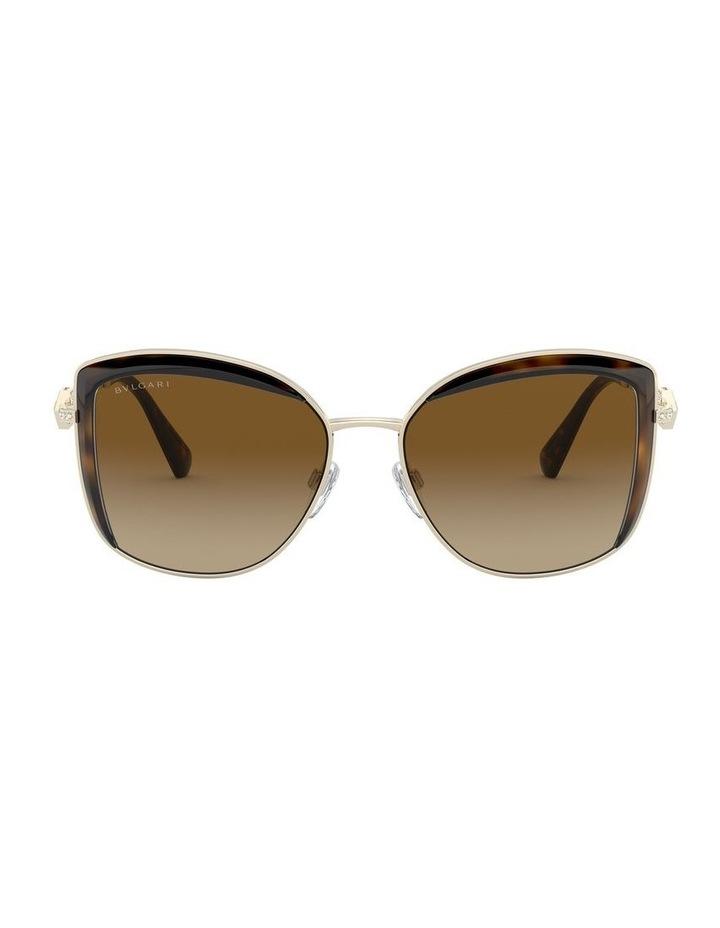 Brown Square Sunglasses 0BV6128B 1526884003 image 2