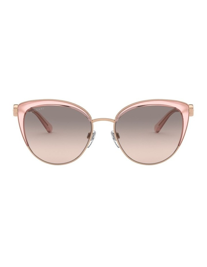 Grey Cat Eye Sunglasses 0BV6133 1526885001 image 2