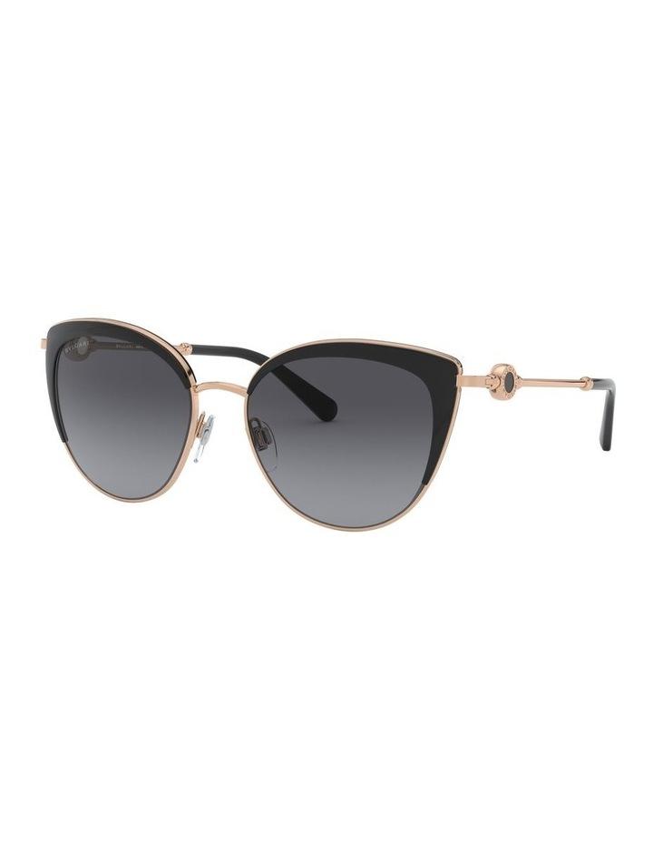 Grey Cat Eye Sunglasses 0BV6133 1526885002 P image 1