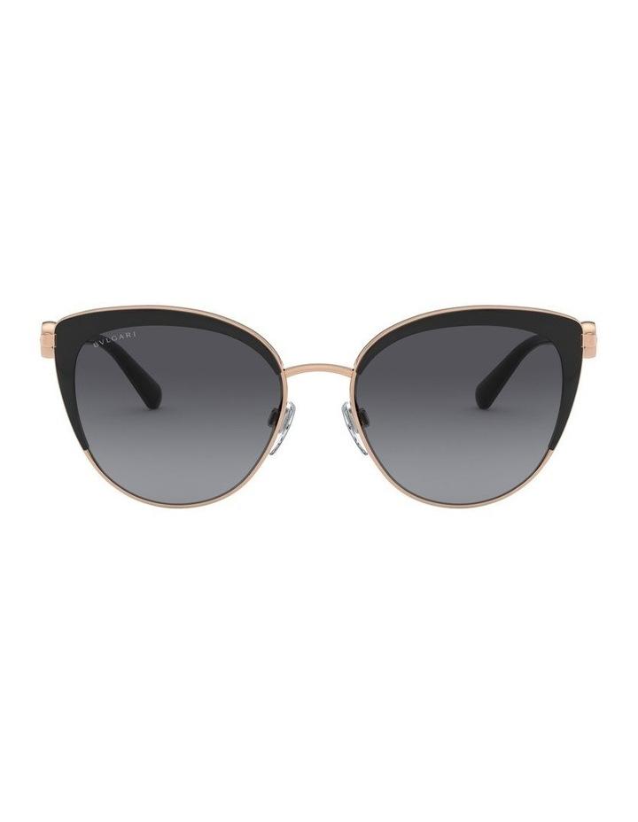 Grey Cat Eye Sunglasses 0BV6133 1526885002 P image 2