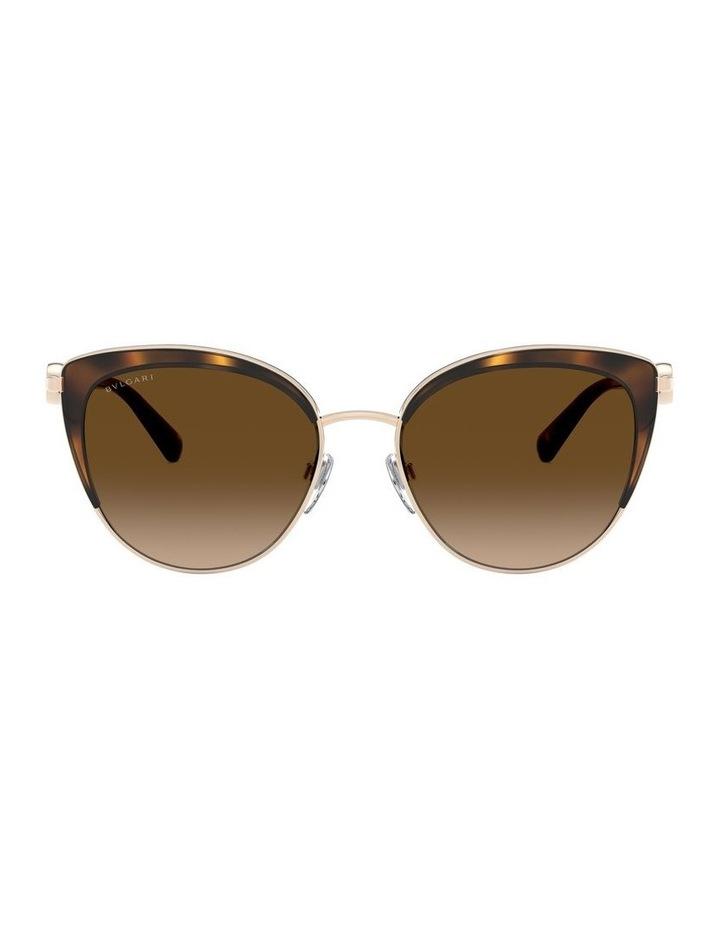 Brown Cat Eye Sunglasses 0BV6133 1526885003 image 2