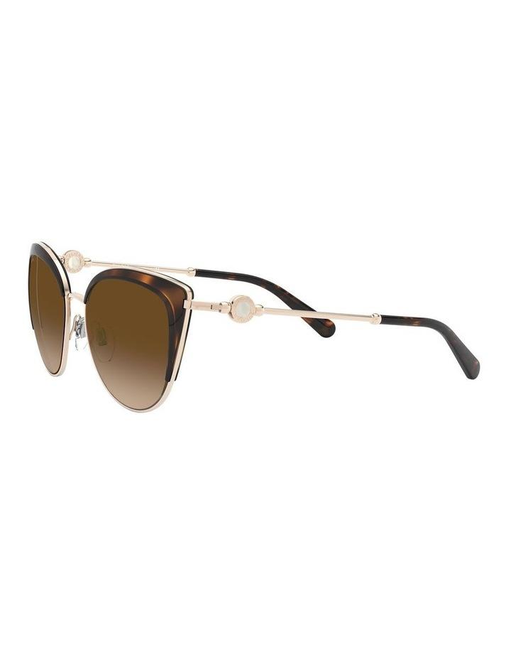 Brown Cat Eye Sunglasses 0BV6133 1526885003 image 3