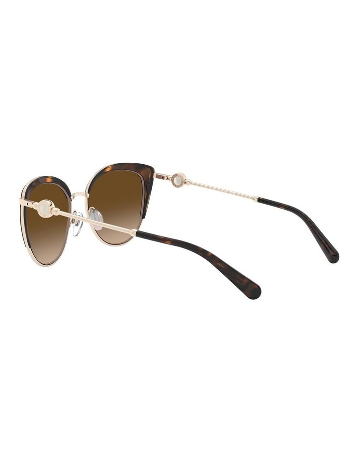 Brown Cat Eye Sunglasses 0BV6133 1526885003 image 5