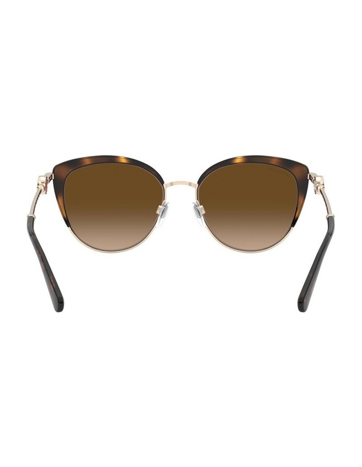 Brown Cat Eye Sunglasses 0BV6133 1526885003 image 7