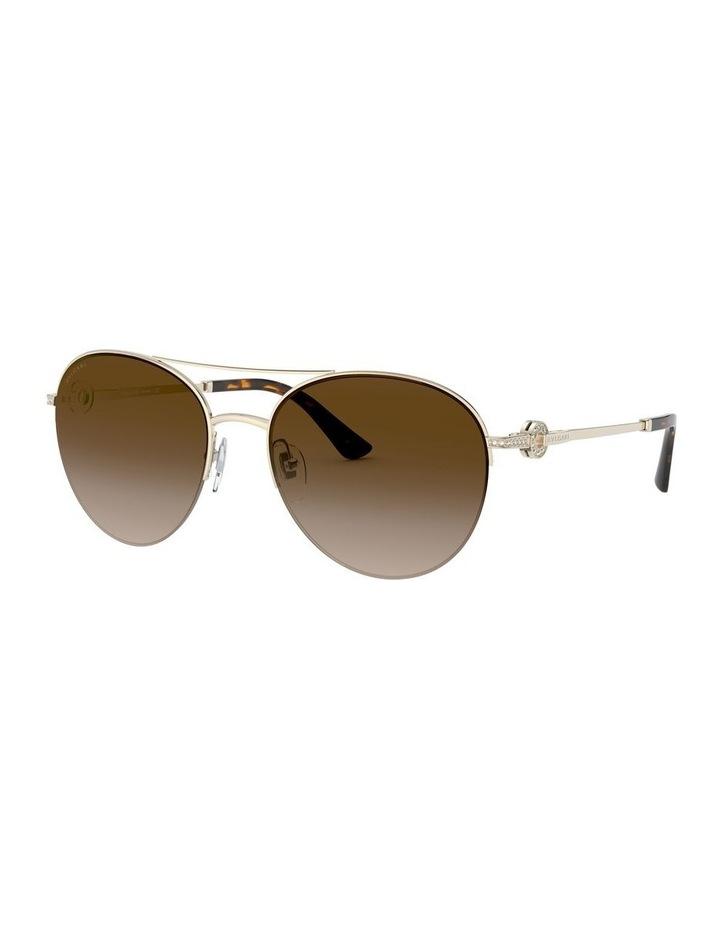 Brown Pilot Sunglasses 0BV6132B 1526886002 image 1