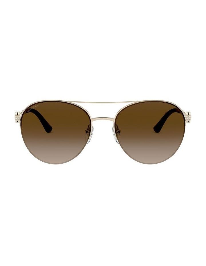 Brown Pilot Sunglasses 0BV6132B 1526886002 image 2