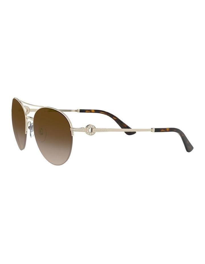 Brown Pilot Sunglasses 0BV6132B 1526886002 image 3