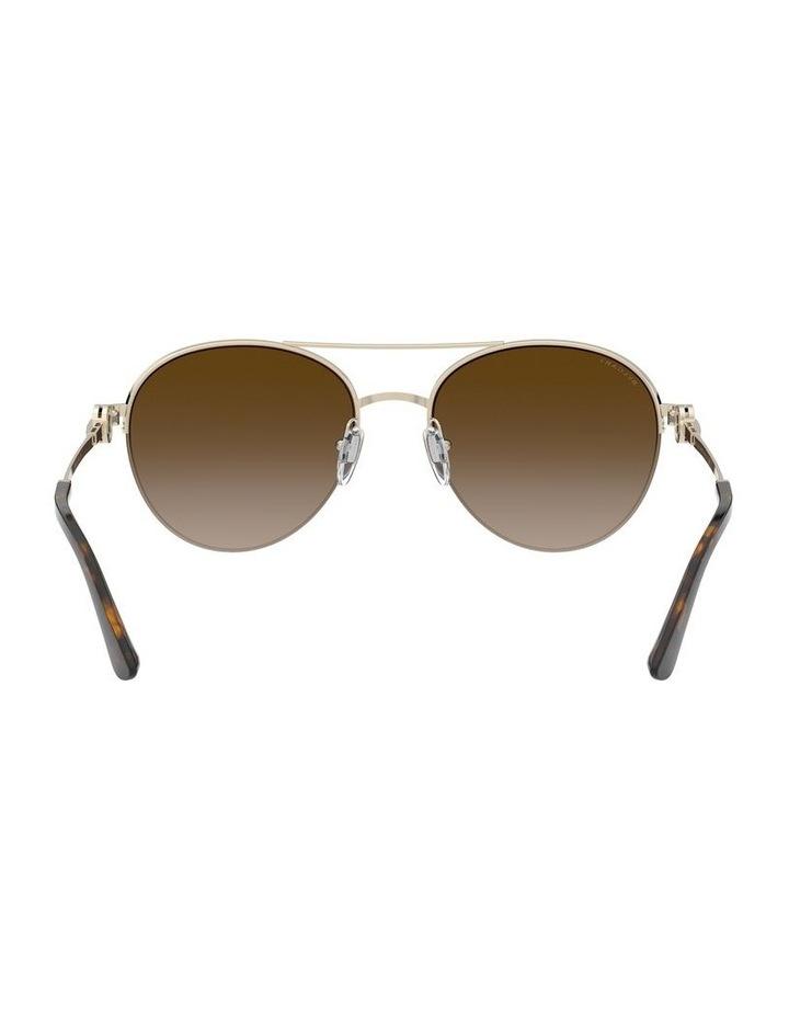 Brown Pilot Sunglasses 0BV6132B 1526886002 image 7