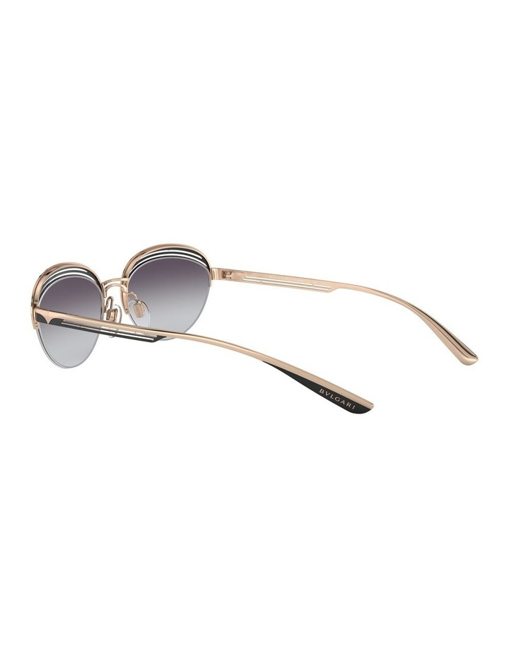 Grey Half Rim Oval Sunglasses 0BV6131 1526888002 image 5