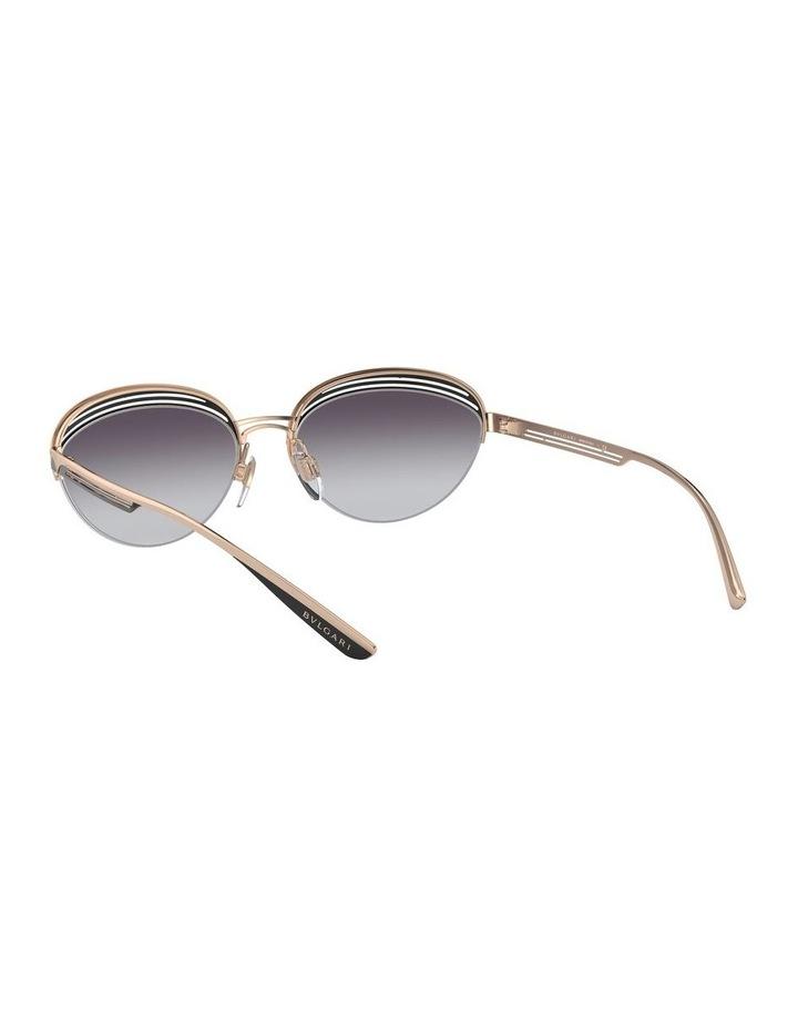 Grey Half Rim Oval Sunglasses 0BV6131 1526888002 image 6