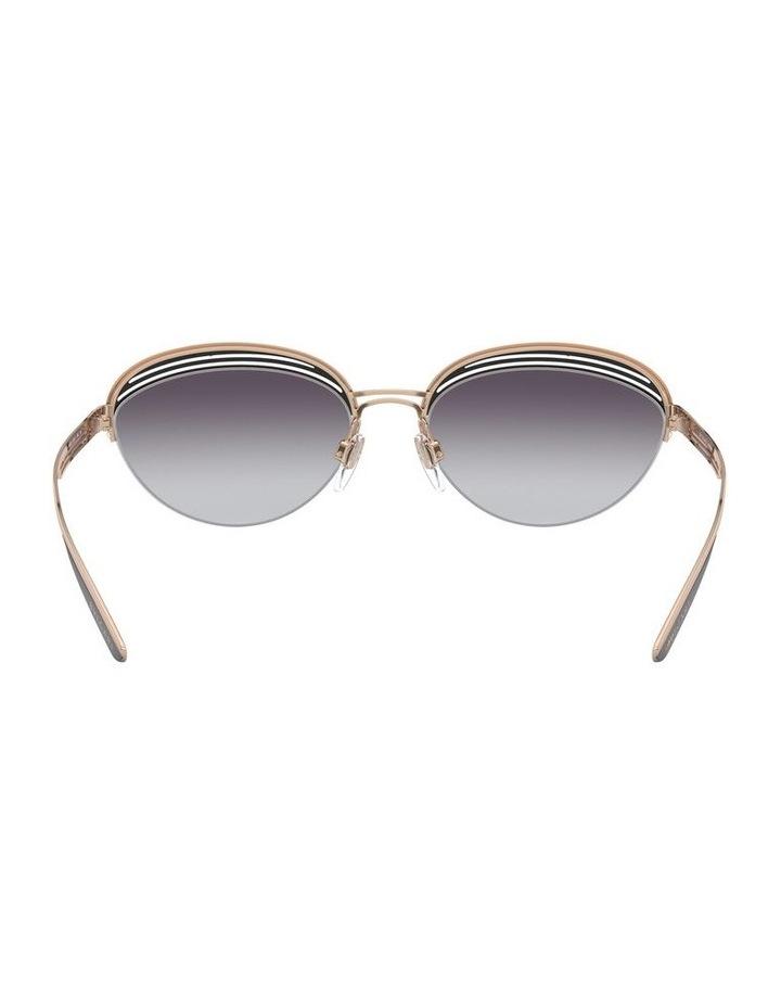 Grey Half Rim Oval Sunglasses 0BV6131 1526888002 image 7