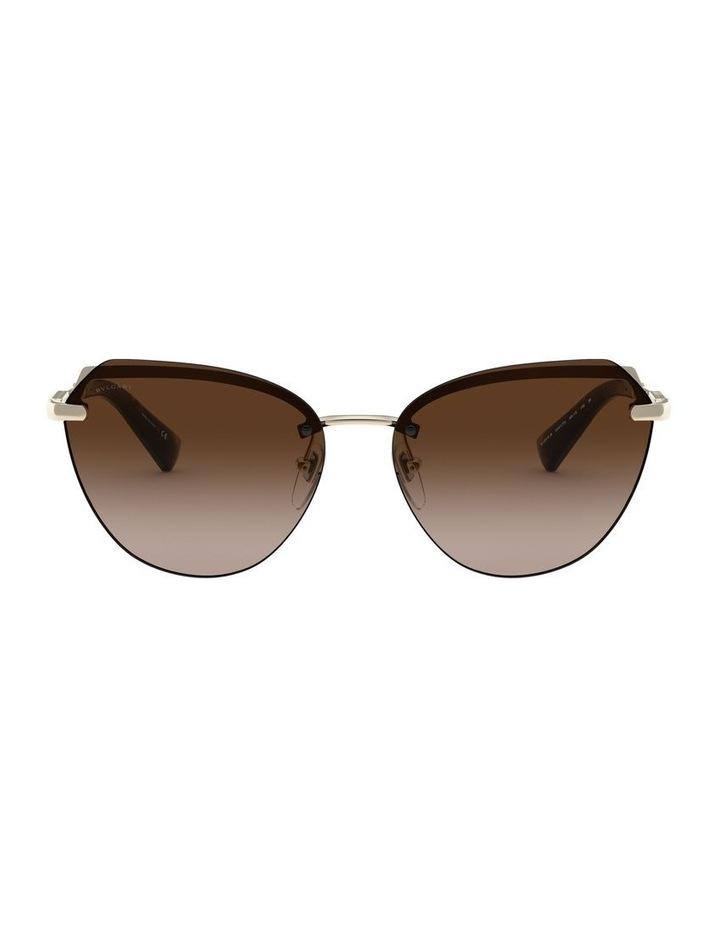 Brown Cat Eye Sunglasses 0BV6129KB 1527997001 image 2