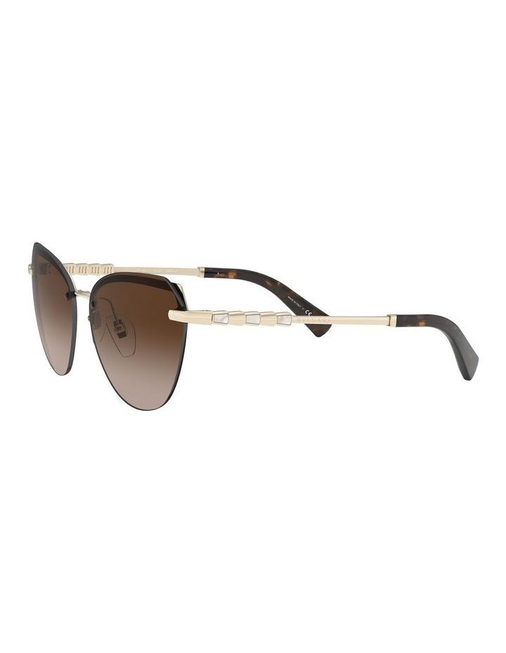 Brown Cat Eye Sunglasses 0BV6129KB 1527997001 image 3