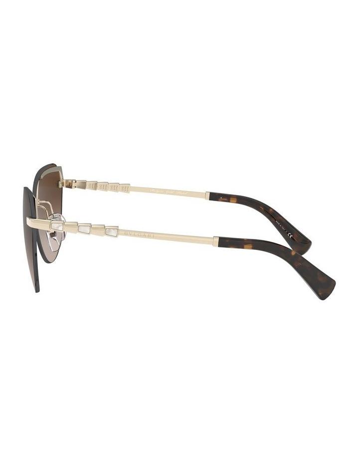 Brown Cat Eye Sunglasses 0BV6129KB 1527997001 image 4
