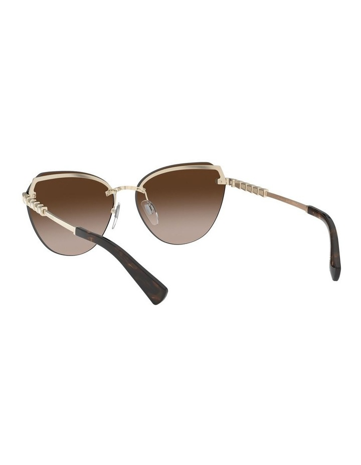 Brown Cat Eye Sunglasses 0BV6129KB 1527997001 image 6