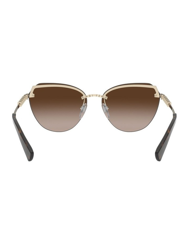 Brown Cat Eye Sunglasses 0BV6129KB 1527997001 image 7