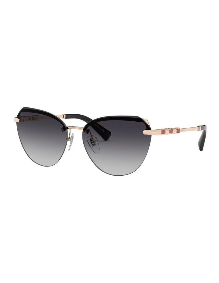 Grey Cat Eye Sunglasses 0BV6129KB 1527997003 image 1