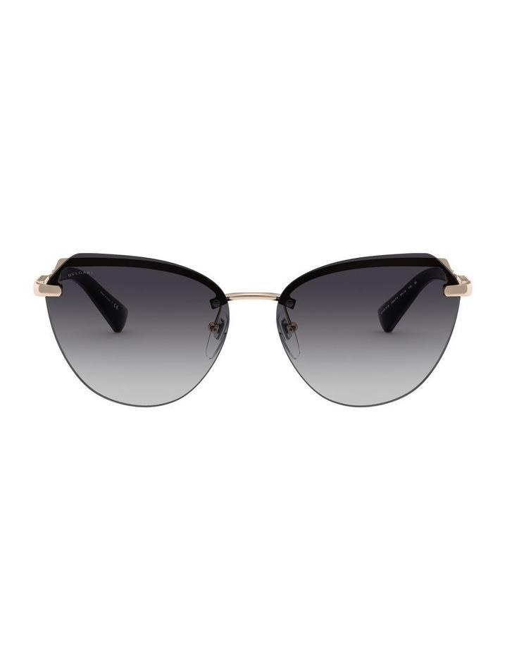 Grey Cat Eye Sunglasses 0BV6129KB 1527997003 image 2