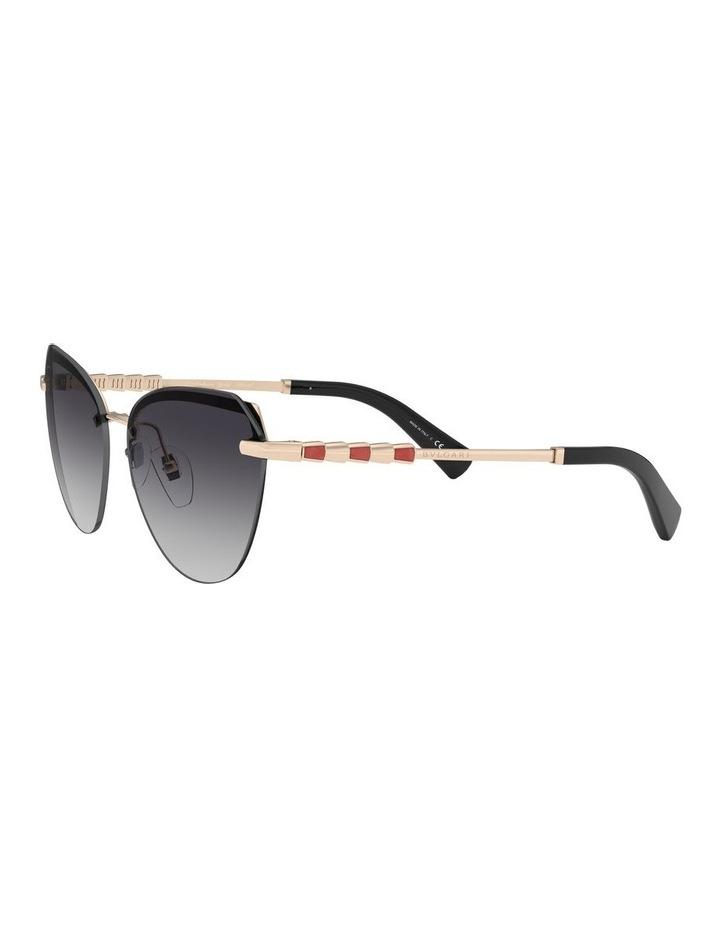 Grey Cat Eye Sunglasses 0BV6129KB 1527997003 image 3