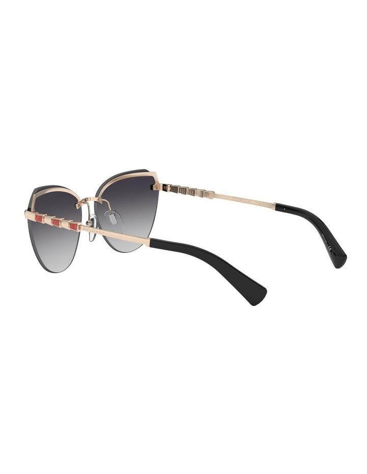 Grey Cat Eye Sunglasses 0BV6129KB 1527997003 image 5